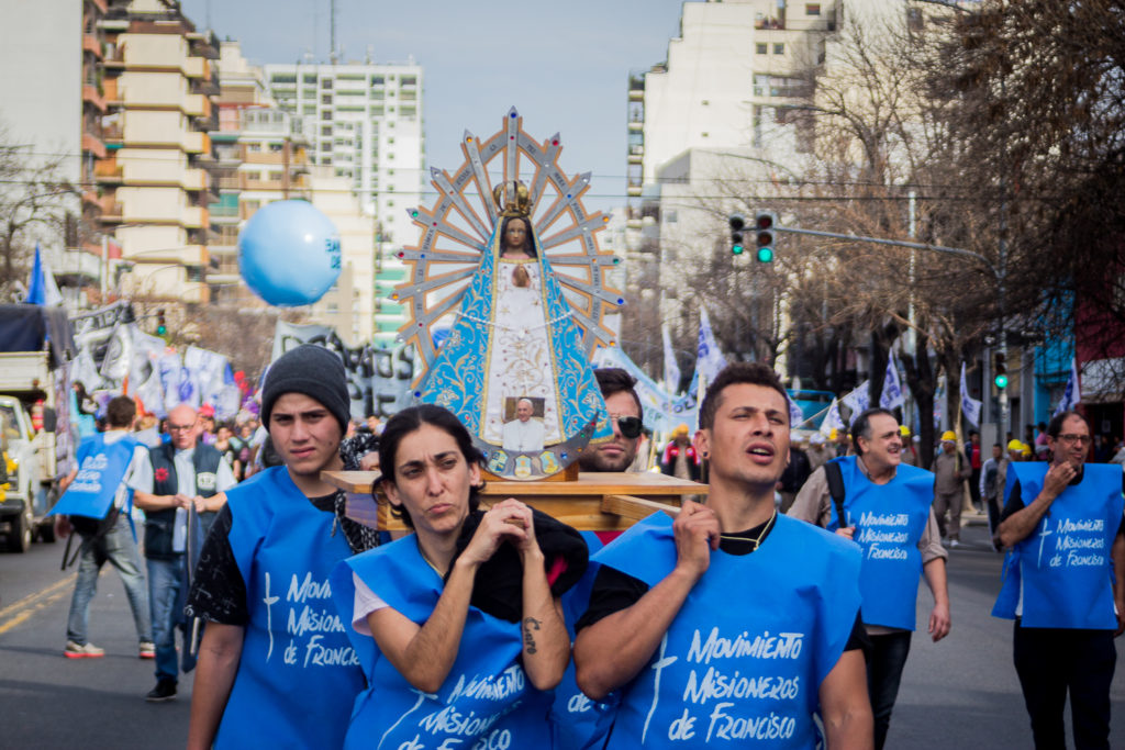 Movilización CTEP San Cayetano