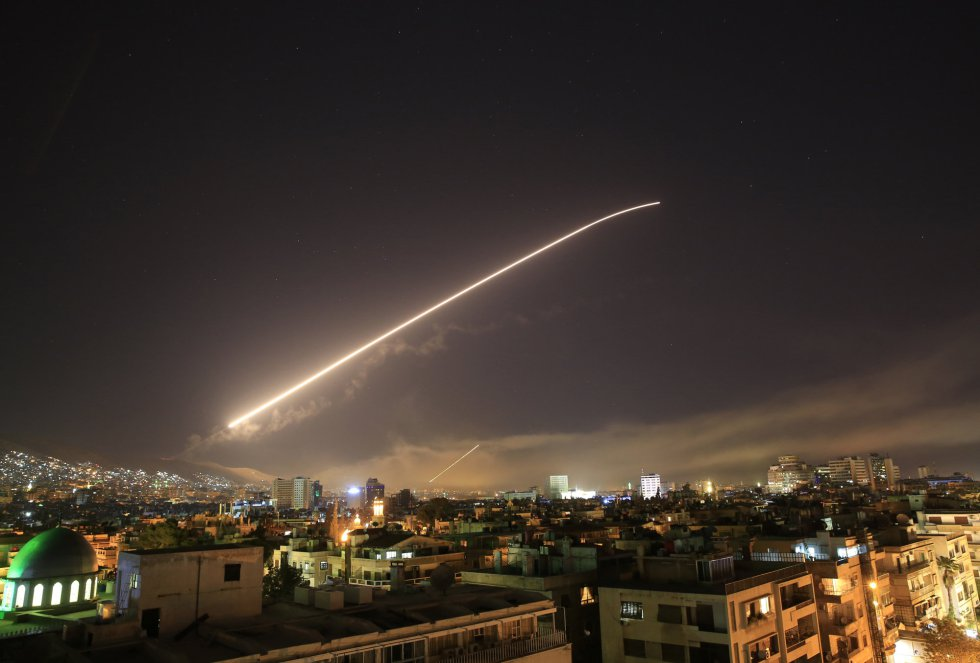 Bombardeo sobre Siria