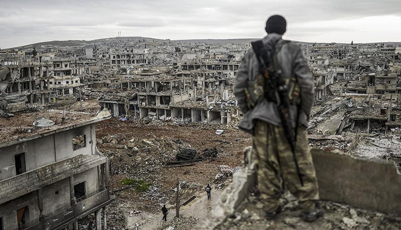 Destrozos en el norte de Siria