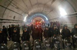represion subte metrodelegados presos