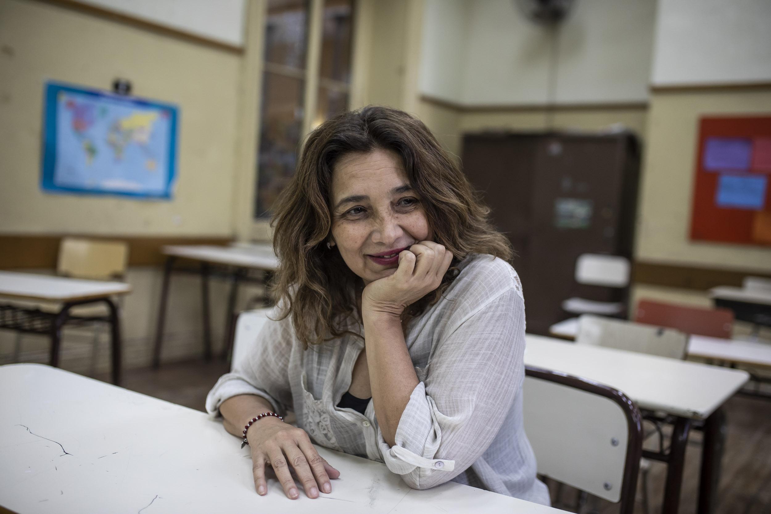 """Angélica Graciano: """"La escuela es el principal obstáculo para el neoliberalismo"""""""