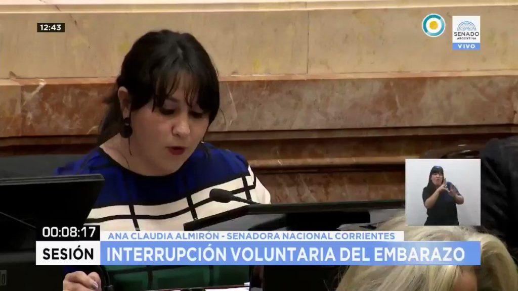Ana Claudia Almirón: «Ya no podemos seguir ocultando estas discusiones bajo el ropaje de provincias conservadoras»